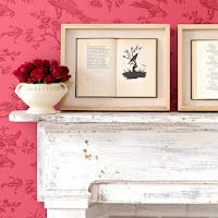 Framed books. Cool site. Lots of $5 Decorating ideas.