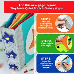 Learn to Tie Bow  Kindergarten Lacing Activity  Ladybug Page image 3 Montessori Activities, Book Activities, Toddler Activities, Shapes For Toddlers, Puzzles For Toddlers, Baby Sensory, Sensory Play, Felt Books, Travel Toys