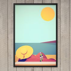 J'adore le Soleil Print by Stanley Chow