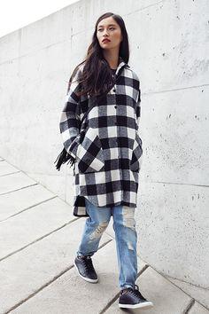 12 façons de styler votre manteau d'automne - Louloumagazine.com