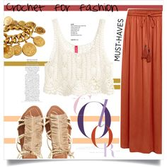 Crochet by tellmeverything on Polyvore featuring polyvore, fashion, style, H&M, Linea Weekend, Visconti & du Réau, Chanel and clothing