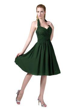 4a7ca5b0973 ColsBM Corinne - Hunter Green Bridesmaid Dresses