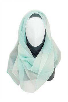 Fade Blue Hijab Hijab description  Hijab Material: Chiffon Hijab Color: Blue Underscarf Material: Rayon Jersey Knit Underscarf Color: Grey  http://hijabila.com/product/fade-blue-hijab/