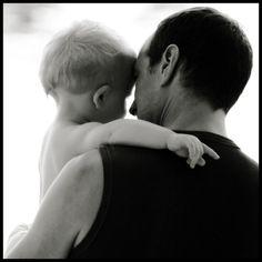 cute father  son shot.
