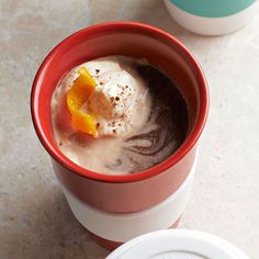 Forgo a stop at the coffee shop and make this flavor-packed Orange Mocha at home. More fall recipes: http://www.bhg.com/recipes/from-better-homes-and-gardens/november-2012-recipes/?socsrc=bhgpin111912orangemocha#page=43
