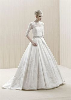 Perfect Winter Wedding Gowns