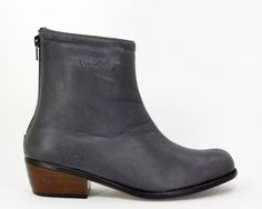 R 899. UeberGruvi Storm Grey Softee Genuine Leather Ankle Boot. Handcrafted in South Africa. Code: LMB 03 —