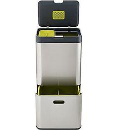 JOSEPH JOSEPH - Totem 60l stainless steel disposal unit | Selfridges.com