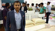 Mohit Jain with #BoutiqueLiving's #PersonalTouch collection HGH India!