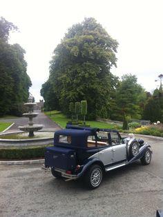 beauford-car-bellingham-castle-louth Wedding Car Hire, Luxury Wedding, Bellingham Castle, Mercedes E Class, Ireland Wedding, Party Bus, Dublin Ireland, Limo, Cupid