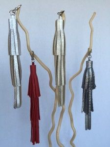 Holiday tassels-tiered Clothes Hanger, Tassels, Holiday, Hangers, Vacations, Hanger Hooks, Holidays, Tassel, Holidays Events