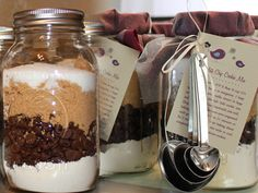 These cookie mix mason jars are so much fun to make, with the added perks of being affordable, stylish, and last but not least-- delicious!