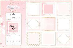 Social Media Pack/Instagram/PinkGold - Instagram - 1