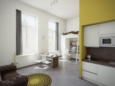 Student housing in Antwerp for Upgrade-Estate