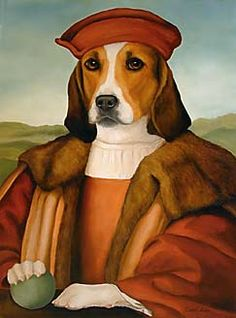 Sir  Doggy Moore beheaded with his Master, St. Thomas Moore, of happy memory.  RIP  Bad cess to Harry VIII.
