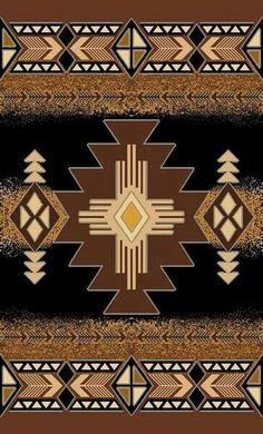 Rugs 4 Less Collection Southwest Native American Indian Area Rug Design 318 Olive Green, Sage Green Motif Navajo, Navajo Rugs, Native American Patterns, Native American Design, Southwestern Quilts, Afrique Art, Navajo Weaving, Arte Tribal, Native Design