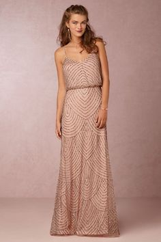 103943f0f0 Beaded dress for Bridesmaids  Favorites from BHLDN Bhldn Bridesmaid Dresses