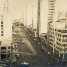 Rua Amaral Gurgel - Sao Paulo SP (anos 60)