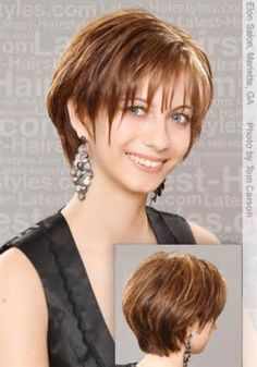 Short Hair Styles For Women Over 50 - Bing Images (personally I would go for a layered back cut where it is rounded in the back