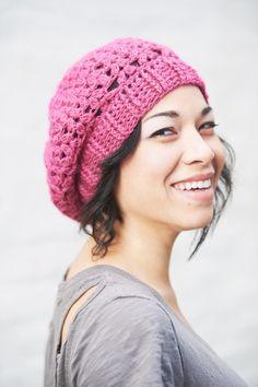 cdf3b1d5a Malinka Beret by Lesley Packel Crochet Woman
