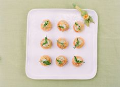 fancy fried green tomatoes! | Katie Stoops #wedding