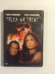 Trick or Treat (DVD, 2003) Gene Simmons, Ozzy Osborne