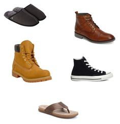 """MALE Shoes Decadent"" by decadentme on Polyvore featuring Timberland, Just Sheepskin, Converse, Børn, English Laundry, men's fashion and menswear"