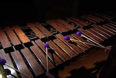 "1935 ""King George"" marimba, designed by Clair Omar Musser. Only 102 of these were built."
