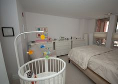 shared bedroom spearmint baby more baby corner in parents room baby