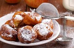 Home Plates: Homemade Apple fritters and mill town memories Apple Barn Apple Fritter Recipe, Apple Fritter Recipes, Apple Recipes, Filling Food, Apple Filling, Cookie Desserts, Just Desserts, Apple Cinnamon Muffins, Apple Fritters