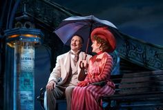 """Howard McGillen and Victoria Clark as they """"Remember It Well"""" in the new Broadway musical """"Gigi"""" (Photo credit: Joan Marcus)"""