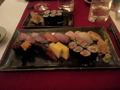 Toshi Experience (10 sushi and one roll) with Tokusen upgrade @ Restaurant Toshi