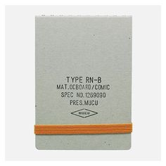 nice material mix on this mini notebook