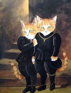 Susan Herbert - Millais, Two Princes
