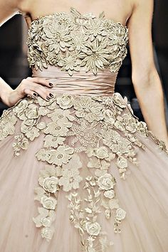 Blush Blossoms. Elie Saab - Fall 2008 Couture