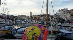Parapluie rime avec Sanary