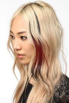 Fun hair extension  Color: Red