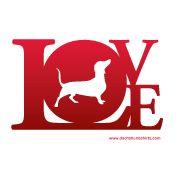 Dachshund Love