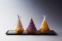 ザ・リッツ・カールトン大阪から、秋の味覚を使ったモンブラン3種 - 栗の入った限定クロワッサンも