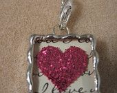 Heart Hand Soldered Pendant...This Lady does fantastic solder work, check her out!!!