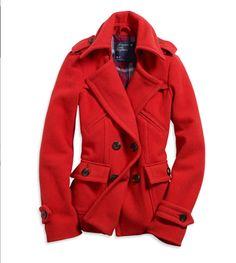 Pea coats = love ♥