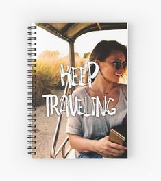 'Keep Traveling' Classic T-Shirt by sgnificantstyle Dont Settle, Female Models, Notebooks, Heather Grey, Classic T Shirts, Traveling, Nice, How To Wear, Design