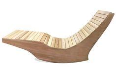 Chaise longue berçante extérieure - Ogni Balance - Outdoor rocking lounge chair