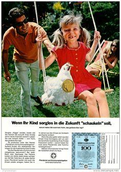 Original-Werbung/ Anzeige 1969 - 1/1 SEITE - PFANDBRIEF UND KOMMUNALOBLIGATION - ca. 180 x 250 mm