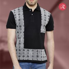Classic Lebanese T-shirt from Rang Rage's poloneck tees collection, inspired by the timeless beauty of Lebanese embroidery  and unique patterns, this ensemble becomes an icon for impeccable clothing.   Buy online from http://bit.ly/1UvmFT9  #buyonline #style #mens #fashion #poloeck #tshirt #art #rangrage #lebanese