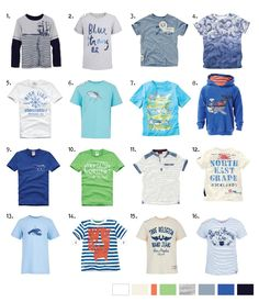 Nautical themed boys t-shirts popping up in new SS13 collections