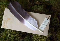 Benutzerdefinierte Storch Feder Schwangerschaft Ankündigungen, Baby Shower Einladungen & Geschlecht zeigt