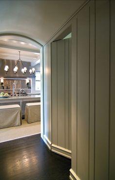 Safe room w/hidden door Hidden Spaces, Hidden Rooms, Passage Secret, Laundry Doors, Panic Rooms, Safe Room, Entrance Foyer, Secret Rooms, Luxury Interior Design