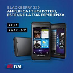 Scopri tutte le caratteristiche del nuovo #BlackBerryZ10. Resterai senza parole e con nuovi poteri.