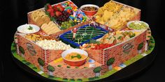 The Ultimate Stadium-shaped Food Tray Best Football Food, Morning Star Farms, Dip Tray, Slime Craft, Party Trays, Mothers Day Brunch, Food Trays, Aesthetic Food, Festival Party